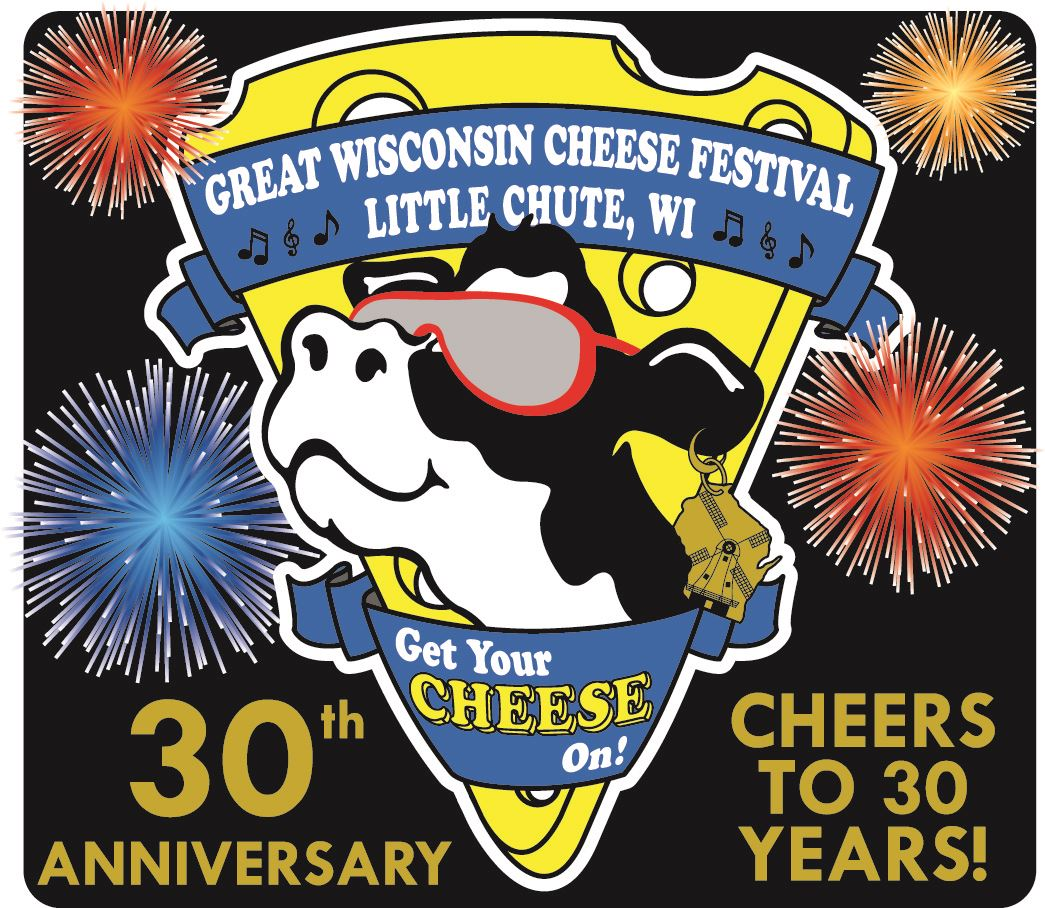 2018 Cheese Fest - 30th Anniversay Logo